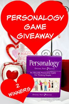 Enter to win Personalogy Game Valentine's Giveaway ad Best card game for date night! (ends Feb. 14)