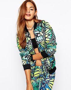 Adidas Originals Butterfly Bomber Jacket