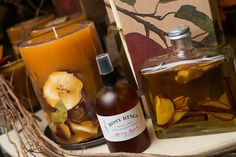 Rosy Rings Spicy Apple is the fragrance of an apple pie cooling on a windowsill -- it's the perfect autumn scent. [Unfortunately you'll start craving apple pie]