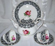 Royal Albert - Senorita - Large Teapot, Cake Plate & Teacup Sets #RoyalAlbert