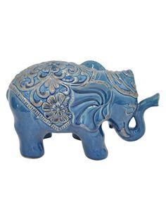 Ceramic Elephant Decor