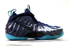 "Nike Air Foamposite Pro ""Obsidian & Aqua"""