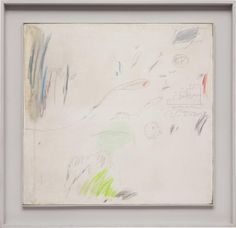 Cy Twombly, Untitled, 1960