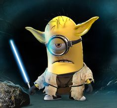 Minions Force Be With You Minion