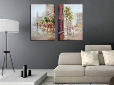 De schilderijen van Richard Macneil creëren beleving in je interieur! De bekende schilder laat zich inspireren door diverse Europese steden en stadsgezichten.