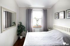 Urządzamy małą sypialnie  #bedroom #samllbedroom #mirror  #szarasypialnia #sypialnia