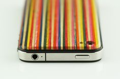 #iPhone #case made of recycled #skateboard wood http://www.jayworld.fr/coque-iphone-bois-skate-4656