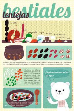 Las recetas ilustradas de Pan y Peter   Fuxia Atelier