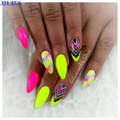 Top 60 Neon Nail Polishes 2018 - Top Fashion
