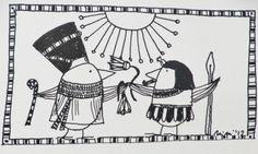 *Hier sehen Sie NofreLIESCHEN und EchnADALBERT, Herrscher über einen großen Schwarm ägyptischer Benu (Phönix), auf einer alten Schautafel.*  +Ins...