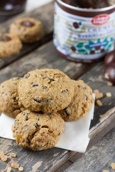 Cookies chocolat, orange confite et crème de marron