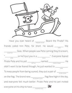 Mad Libs are a fun way to practice language arts skills! {Free printable}: