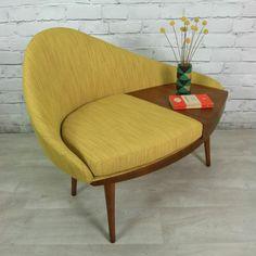 vintage möbel einrichtung wohnen sitzen mini tisch