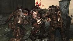 This scene is from gears of war 2. I like the gritty style of this game, it uses the unreal engine.
