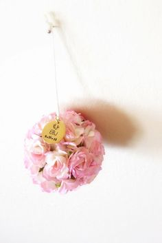 Celebrate her first year with Baby's First Christmas Ornament, exclusively by Kara's Vineyard Wedding.