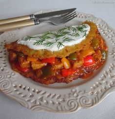 Najlepszy Placek po Węgiersku - Przepis - Słodka Strona Soup Recipes, Great Recipes, Snack Recipes, Cooking Recipes, Favorite Recipes, Healthy Recipes, Good Food, Yummy Food, Fast Dinners