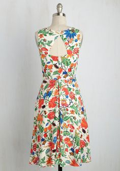 Eva Franco Garden Propriety Dress | Mod Retro Vintage Dresses | ModCloth.com