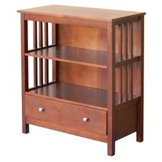 Donnieann Hollydale Chestnut Mission Style Bookcase Brown