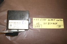 This  Alarm Control Unit is for Mercedes Benz E320 (?)Please check the part number: 2118209626 with your local dealer.