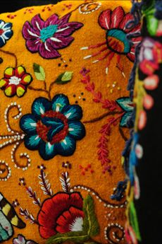 Beautiful Peruvian textiles.