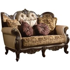 Meridian Furniture Inc Catania Sofa with Accent Pillows, Brown Toss Pillows, Accent Pillows, Leather Reclining Loveseat, Cosy Sofa, Meridian Furniture, World Decor, Beautiful Sofas, Victorian Furniture, Fabric Sofa