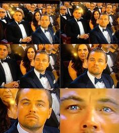 Leonardo DiCaprio has been nominated four times, but this year lost to Matthew McConaughey. I think there are actual tears in his eyes Matthew Mcconaughey, Oscar Leonardo, Young Leonardo Dicaprio, Cinema, Epic Fail Pictures, Hopes And Dreams, Future Husband, Memes, The Funny