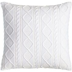 """Ralph Lauren Judson Cable-Knit Pillow, 20""""Sq. Details Cable-knit cotton. Fully lined. Button closure. Machine wash. Imported. Designer About Ralph Lauren: American designer Ralph Lauren debuted his brand in 1968 with ties and menswear, and over the years his vision expanded to encompass women's ready-to-wear, shoes, accessories, and children's clothes, just to name a few. Classic and timeless are the watch words of Ralph Lauren, whether it be designs from Black Label, Blue Label, Ralph…"""