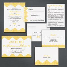 A Printable Press - Henna Invitation