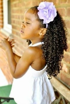 who said curly hair cant be beautiful as well? This girl looks gorgeous with her natural hair Pelo Natural, Natural Curls, Natural Hair Care, Natural Hair Styles, Little Girl Hairstyles, Cool Hairstyles, Natural Hair Inspiration, Good Hair Day, Curly Girl