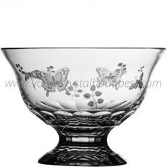 Springtime Clear Footed Bowl 10' 325€