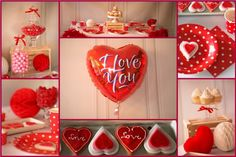 S�odki St� na Walentynki/Sweet Table for Valentine`s Day