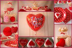 S�odki St� na Walentynki/Sweet Table for Valentine`s Day