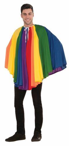 Choose Color Adult Reversible Superhero Hero Villain Costume Accosory Capes