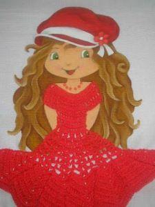 pintura de meninas ou bonecas - Pesquisa Google