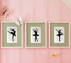 Cuadros de bailarinas | Habitaciones Tematicas