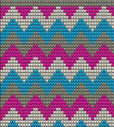 Rossymade's media content and analytics Wiggly Crochet, Bag Crochet, Crochet Purses, Crochet Chart, Loom Beading, Beading Patterns, Weaving Loom Diy, Tapestry Crochet Patterns, Tapestry Bag