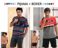 Pijama + Boxer #Massana #Homewear #pijama #Men