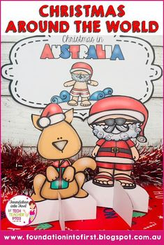 Christmas around the world. Christmas in Australia. Learn how this holiday season is celebrated in Australia. Australia For Kids, Australia Crafts, Christmas In Australia, Holidays Around The World, Around The Worlds, Christmas And New Year, Christmas Crafts, Christmas Ideas, Teacher Blogs