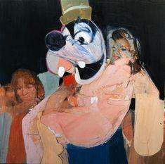 "Karim Hamid, ""Pieta,"" oil on board, 24""x24"", 2010, private collection in Sidney"
