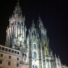 Ciudades patrimonio #Santiago catedral