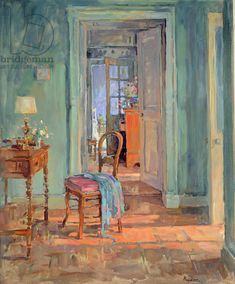 Susan Ryder. The Dressing Room (oil on canvas)
