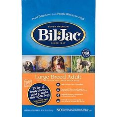 BILJAC 319067 Large Breed Select Dry Food for Dogs 30Pound >>> You can get more details by clicking on the image.