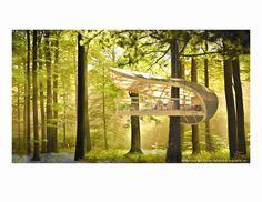 Samara Treehouses, Tobermory, 2012 - Farrow Partnership Architects