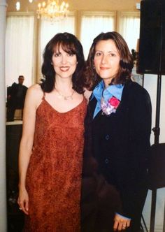 Me and mom in 1996? I sang in the wedding, she performed at the reception!