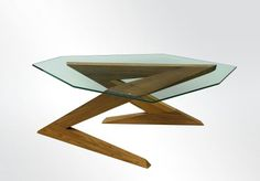 ZZ and Top coffee table by Dimisco - Unusual Fine Furniture