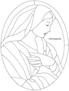 Menudo Arte!!: Vitrales de la Virgen María