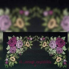 Brother Innovis, Flower Patterns, Hand Embroidery, Cross Stitch Patterns, Flowers, Embroidery Machines, Punto De Cruz, Dots, Cross Stitch