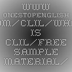 Free sample material - Macmillan