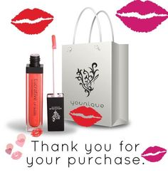 Thank you Kim for your order, you will love the non sticky lip gloss. Contact me with any questions about any Younique products here www.beautifulin3d.com