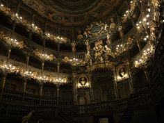 scelestious-psyche:    Markgräfliches Opernhaus (Margravial Opera House), Bayreuth, Germany